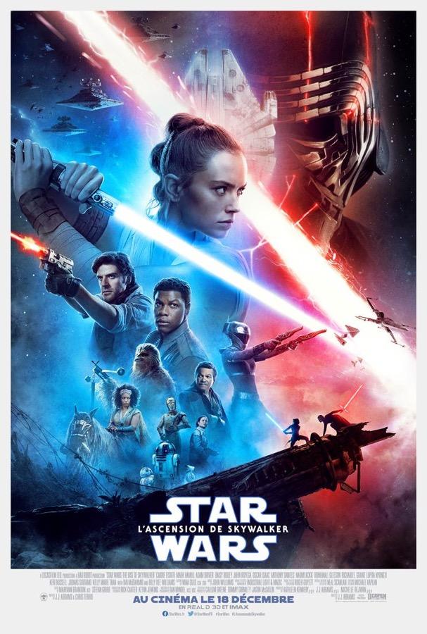 Star Wars 9 Ascension De Skywalker Affiche Francaise