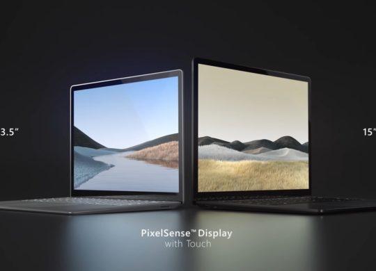 Surface Laptop 3 13 et 15 Pouces