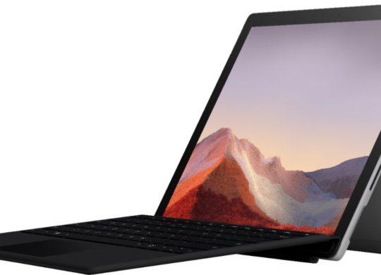 Surface Pro 7 et Clavier