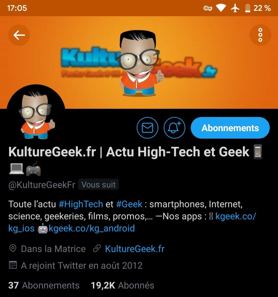 Twitter Android Vrai Mode Sombre 958x1024