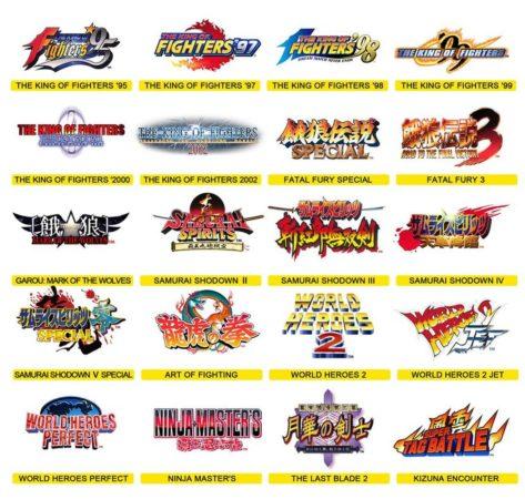 Jeux Neo Geo Arcade Stick 473x450