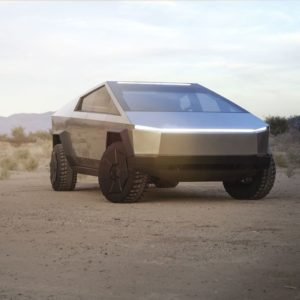 Image article Cybertruck : Tesla dévoile son pick-up du futur