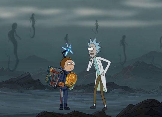 Death Stranding Rick et Morty pub