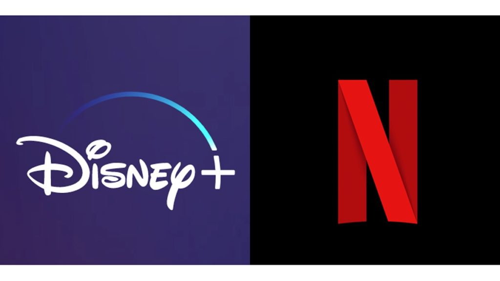 Disney Plus Vs Netflix Logos 1024x576