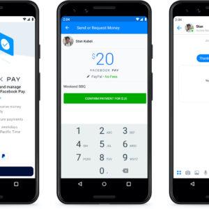 Image article Facebook Pay annoncé : un service de paiement pour Facebook, Messenger, WhatsApp et Instagram