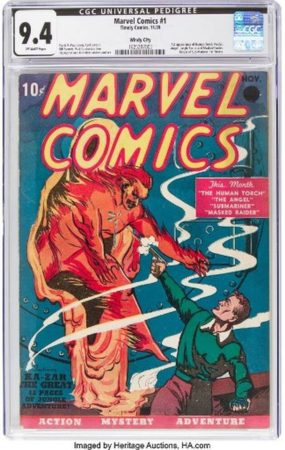 First Comic Marvel 285x450