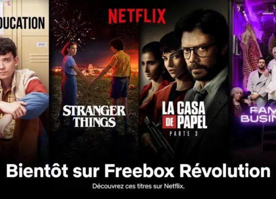 Freebox Revolution Netflix Visuel