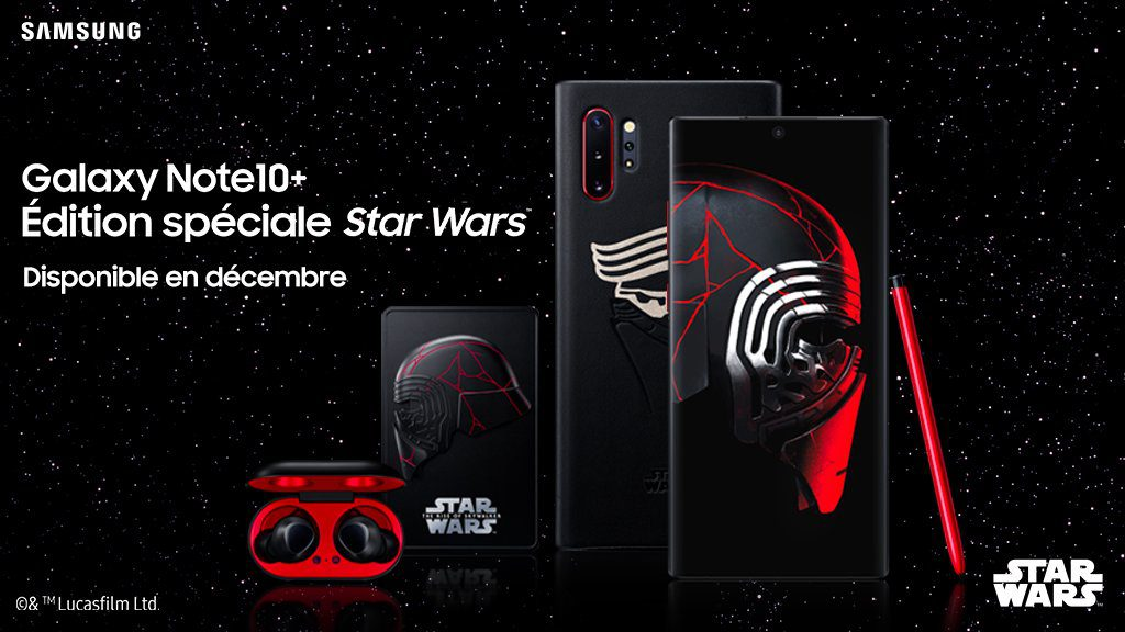 Galaxy Note 10 Plus Edition Star Wars 1024x576