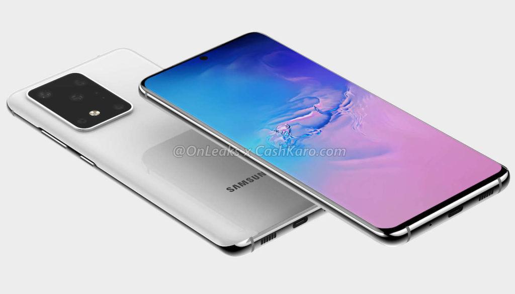 Galaxy S11 Plus Rendu 1024x584