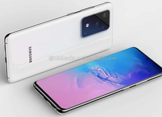 Galaxy S11 Plus Rendu 2