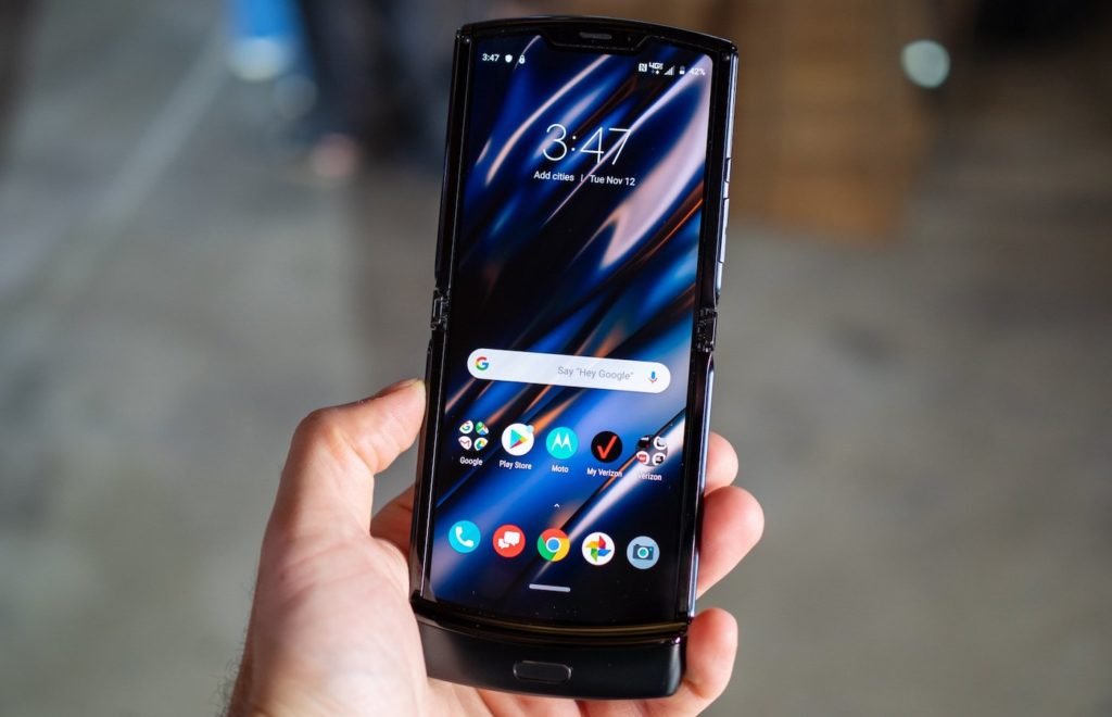 Motorola RAZR Ecran 1024x660