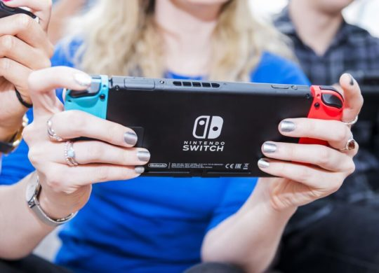 Nintendo Switch En Main
