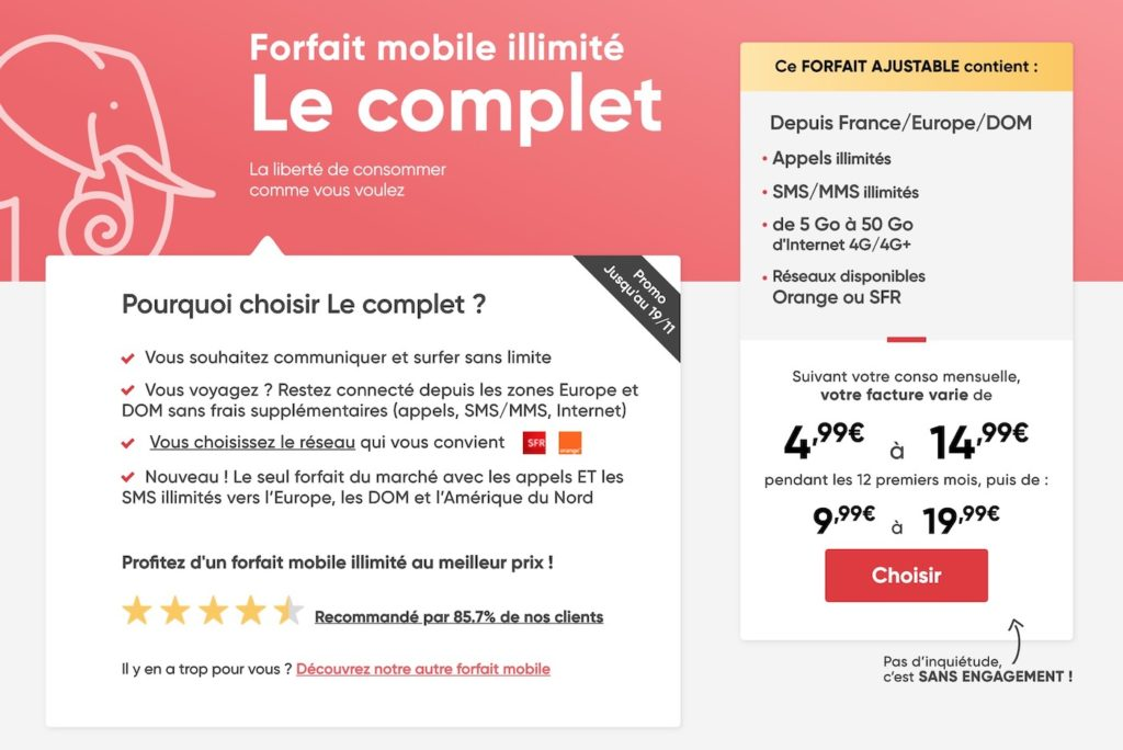 Prixtel Promo Forfait Novembre 2019 1024x684