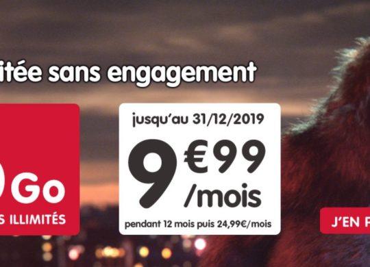 Promo Forfait NRJ Mobile 200 Go Novembre 2019