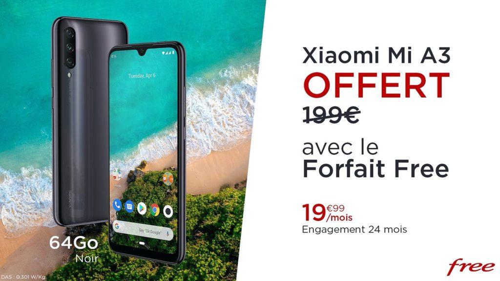 Promo Free Mobile Xiaomi Mi A3 1024x575