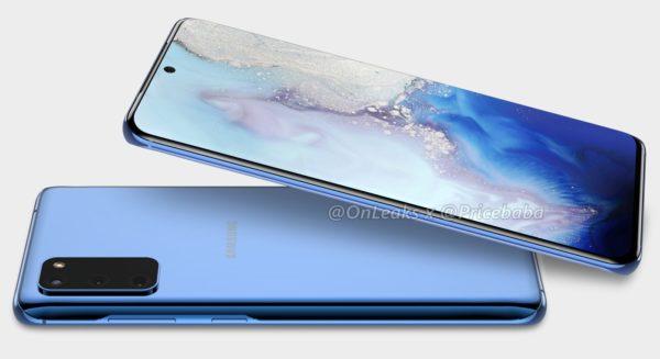 Rendu Galaxy S11e 600x327