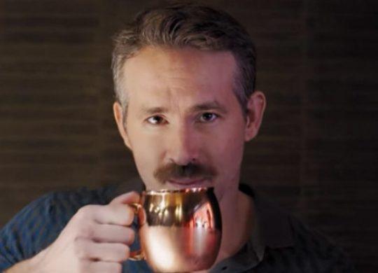 Ryan Reynolds moustache