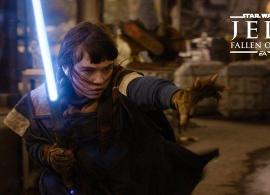 SW Jedi Fallen Order trailer live
