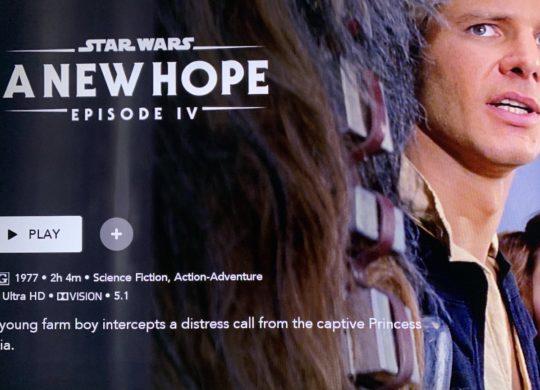 Star Wars Episode 4 4K 1