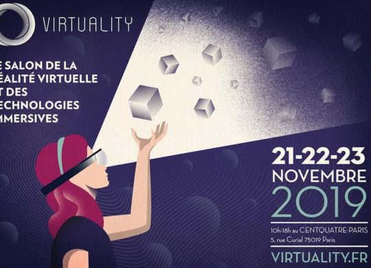 Virtuality salon de la VR Paris 2019