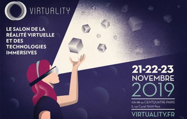 Virtuality Salon De La VR Paris 2019 600x383