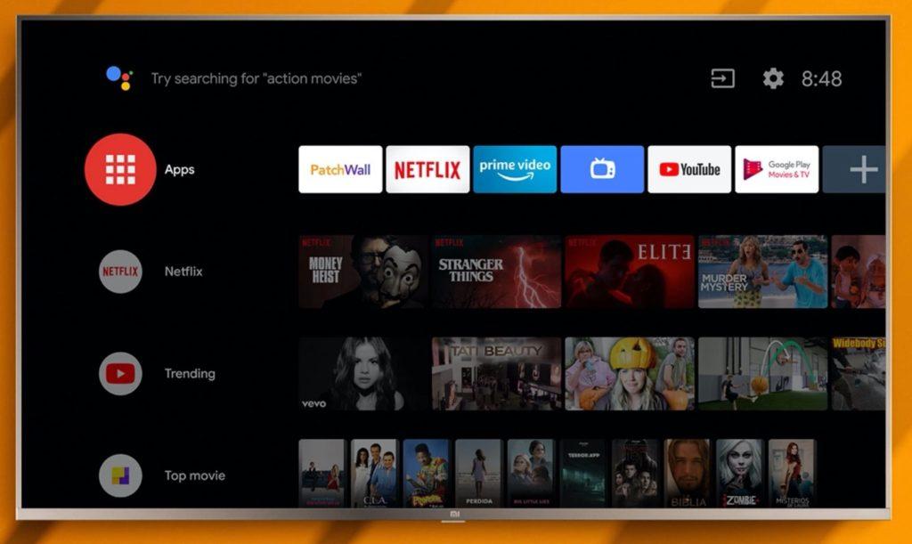 Xiaomi Mi TV 4S 1024x611