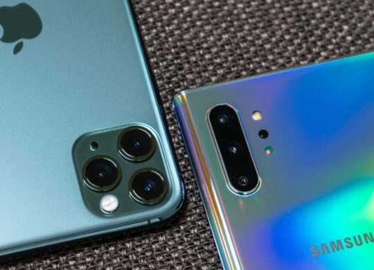 iPhone 11 Pro vs Galaxy Note 10 Arriere Appareils Photo