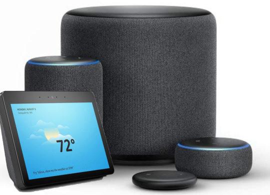 Amazon Echo Famille