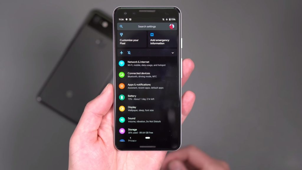 Android 10 Mode Sombre 1024x576
