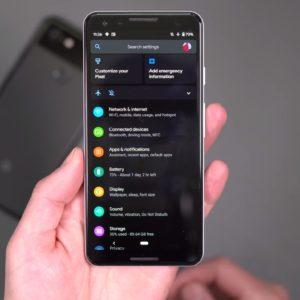 Android : l'activation automatique du mode sombre arrive, sûrement avec Android 11
