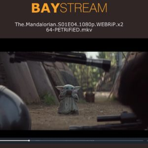 Image article BayStream : The Pirate Bay se lance dans le streaming de films/séries