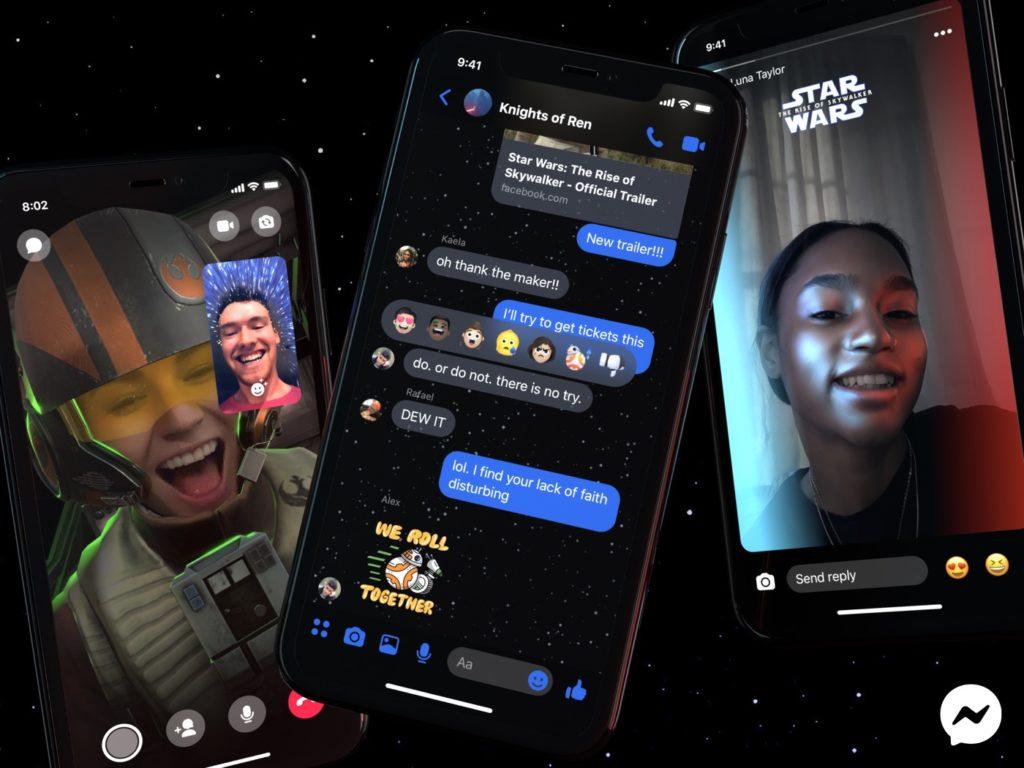 Facebook Messenger Star Wars 1024x768