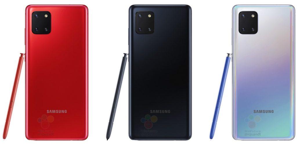 Fuite Galaxy Note 10 Lite 1024x501