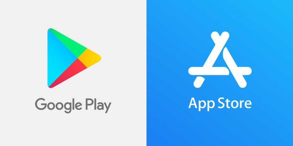 Google Play Store Vs App Store Logos 1024x510