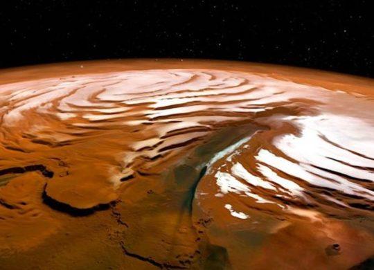 Mars Glace