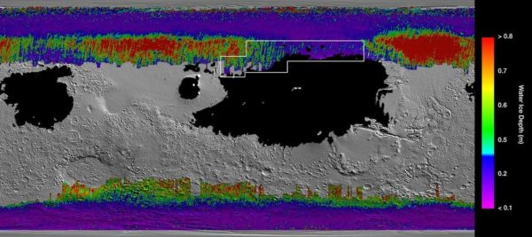 Mars Surface 600x267