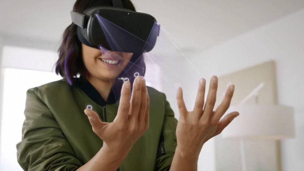 Oculus Quest Hand Tracking 1024x575