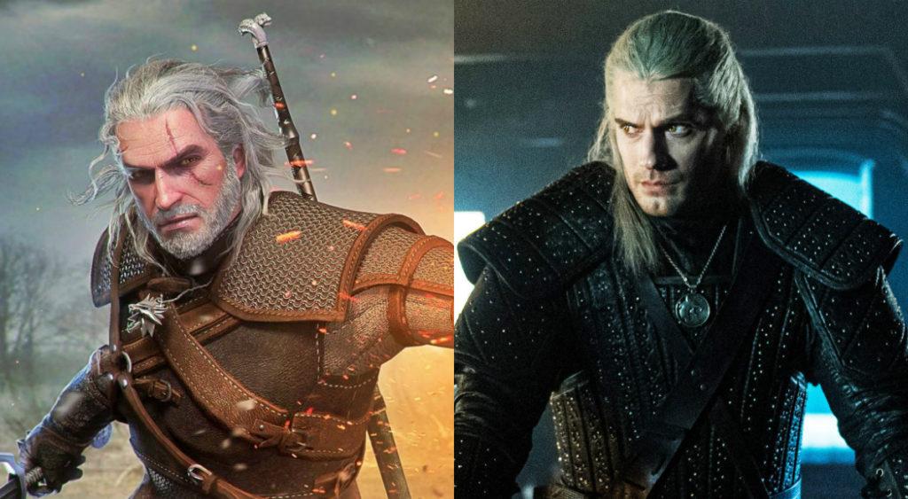 The Witcher Jeu Vs Serie Henry Cavill Geralt De Riv 1024x563