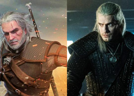 The Witcher Jeu vs Serie Henry Cavill Geralt de Riv