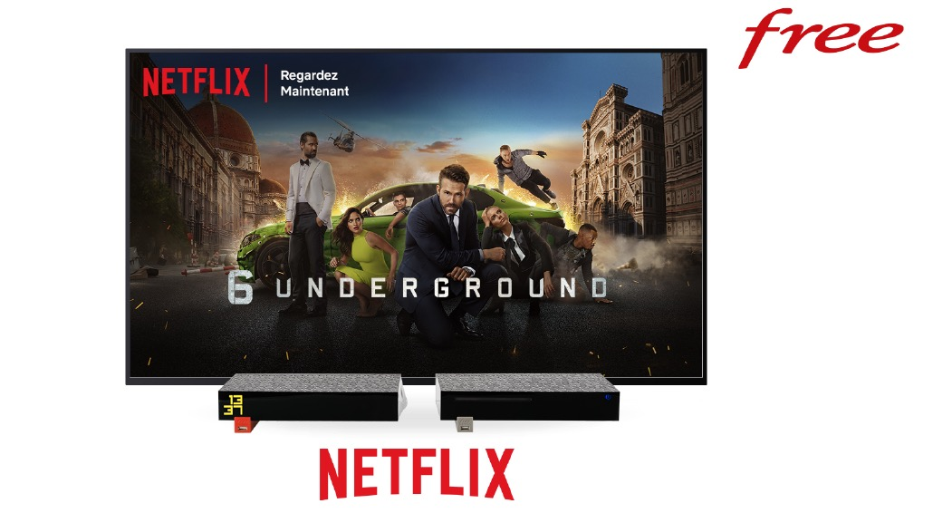 Netflix Freebox Revolution