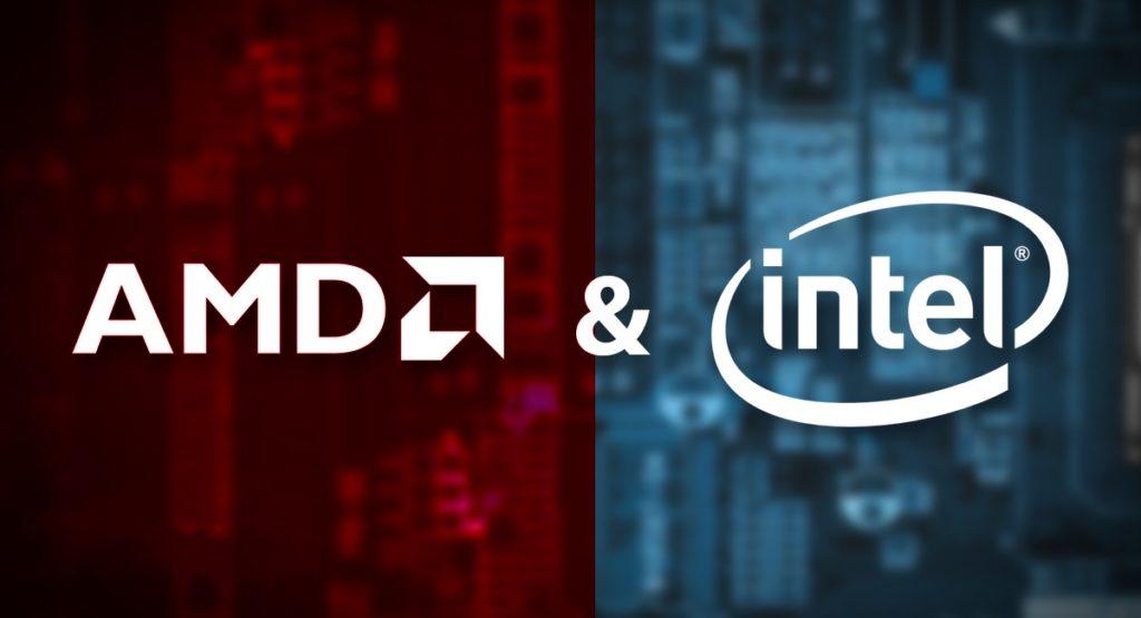 AMD Et Intel Logos 1024x555