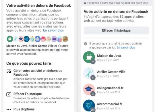 Activite Hors de Facebook