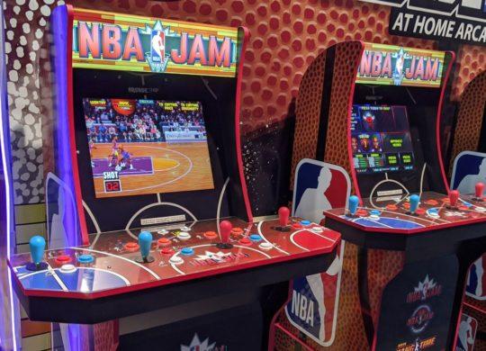 Arcade1up NBA Jam CES 2020