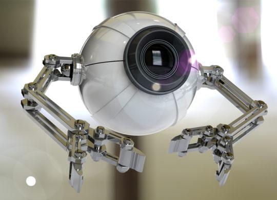 Camera de surveillance robot