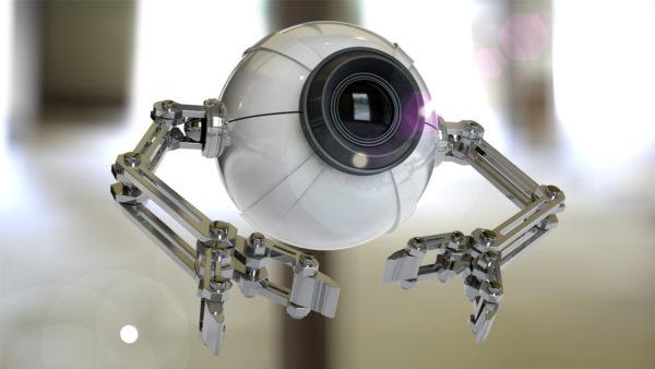 Camera De Surveillance Robot 600x338