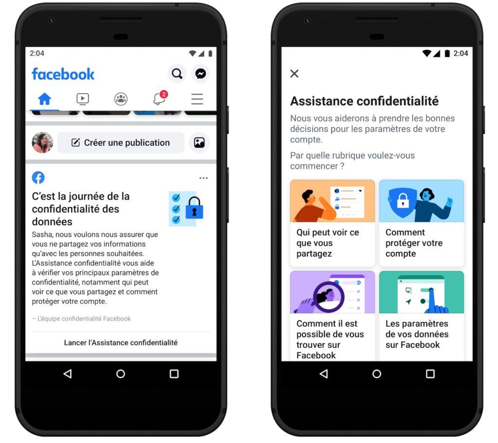 Facebook Assistant Confidentialite 1024x911
