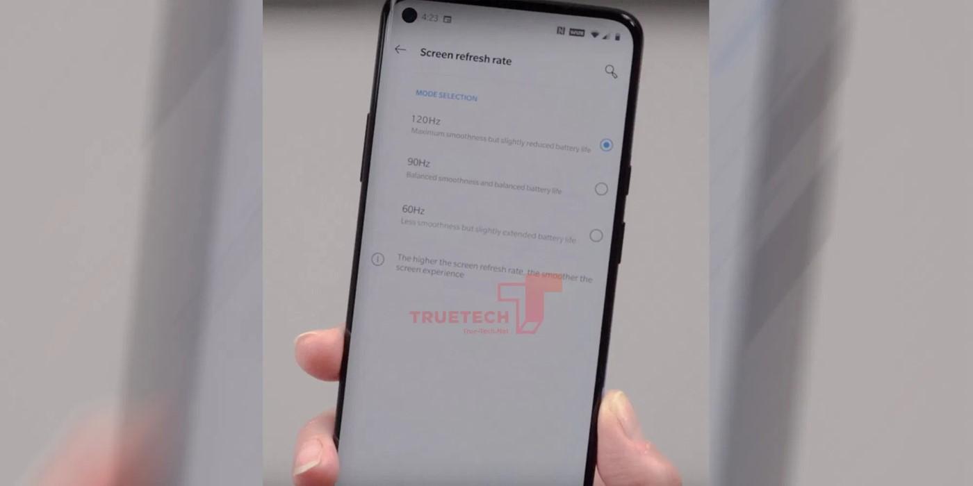 Fuite OnePlus 8 Pro