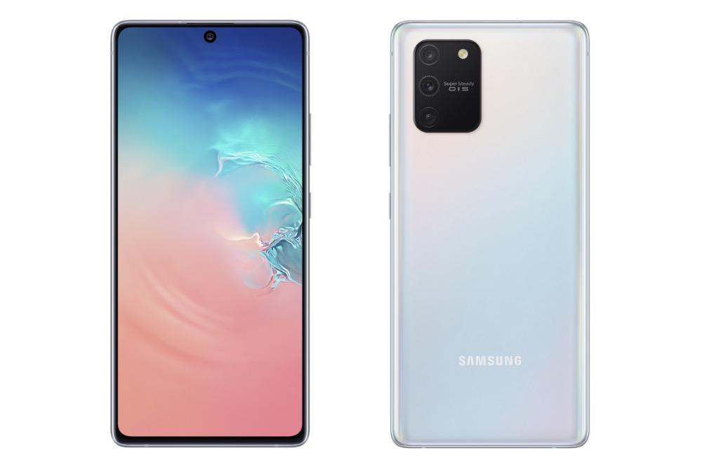 Galaxy S10 Lite Avant Arriere Officiel