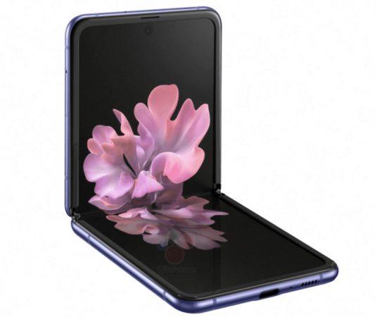 Galaxy Z Flip Rendu 3D 2 533x450