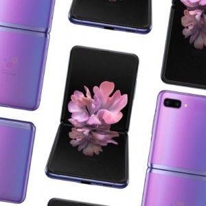 Image article Samsung Galaxy Z Flip : un leak dévoile un design original (rendus 3D)